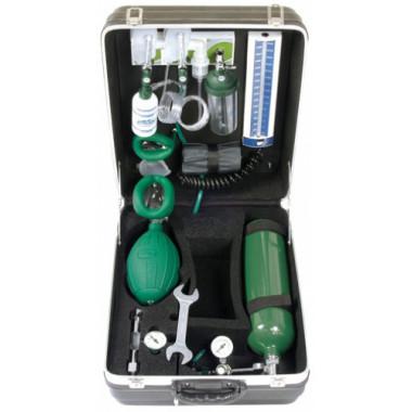 Unidade de Emergência Intensiva com cilindro de oxigênio de 3L
