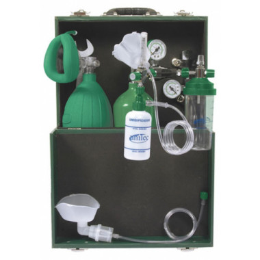 Unidade Modular para Socorro de Urgência com cilindro de oxigênio de 3L