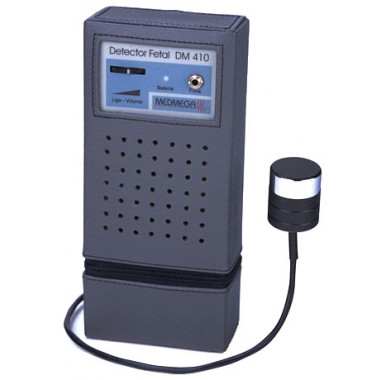 Detector Fetal Portátil - Dm 410 (Medmega)