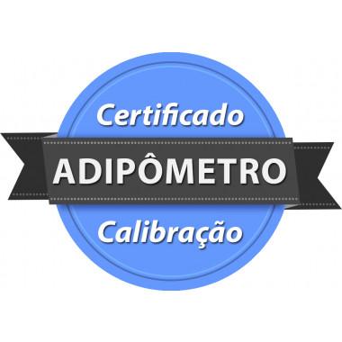 Calibração rastreada para Adipômetro