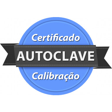 Calibração rastreada para Autoclave