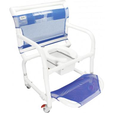 Cadeira De Banho E Higiênica Em Pvc PObeso - Carcilife