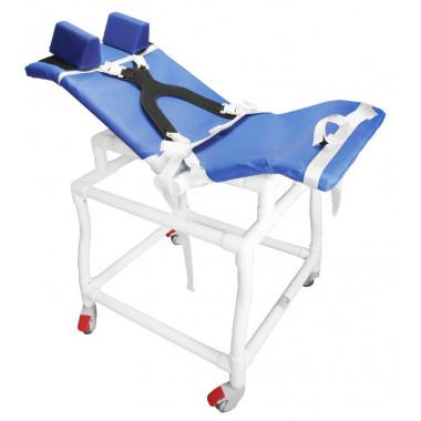 Cadeira De Banho Higiênica Em Pvc P/Deficientes / Excepcional