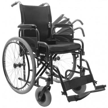 Cadeira de Rodas D400 com opção de Apoio de Panturrilha