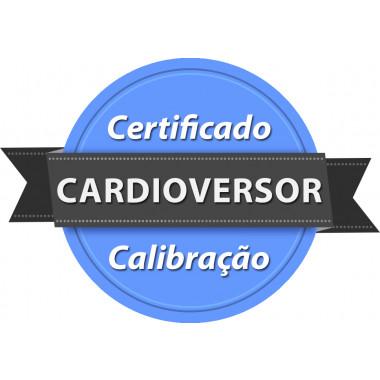Calibração rastreada para Cardioversor