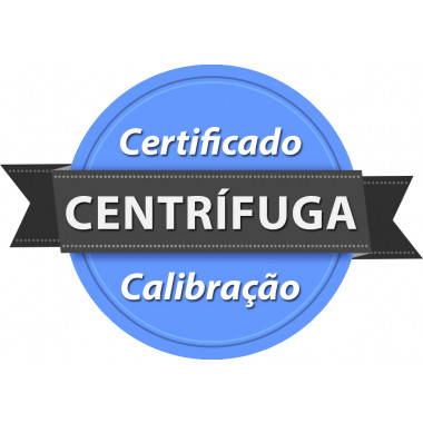 Calibração rastreada para Centrífuga