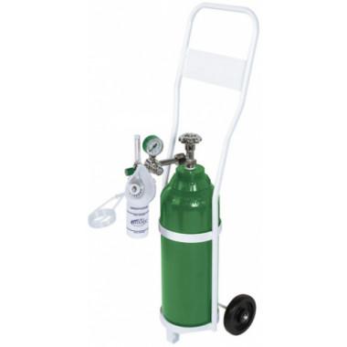Unidade Móvel para Oxigenação com Cilindro de oxigênio de 10 litros