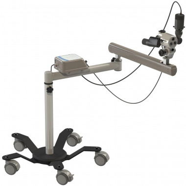 Colposcópio Trinocular LED com Aumento de 16x com Câmera e Braço - CPM7004TC LD