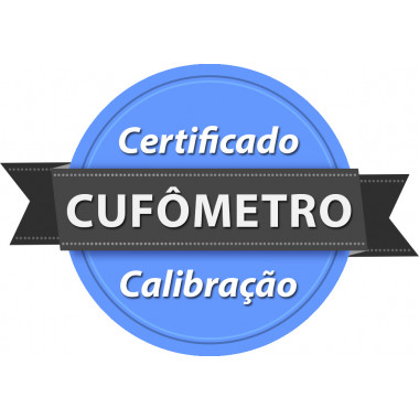 Calibração rastreada para Cufômetro