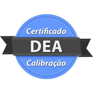 Calibração rastreada para DEA Desfibrilador Externo Automático