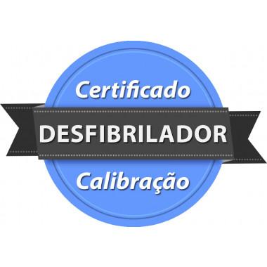 Calibração rastreada para Desfibrilador