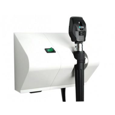 Oftalmoscópio MD 3.5V Lâmpada Halógena de Parede Coaxial
