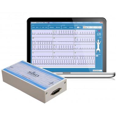 Eletrocardiógrafo ECGVET-PC 12 derivações