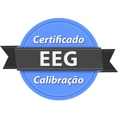 Calibração rastreada para EEG Eletroencefalógrafo