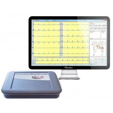 Eletrocardiógrafo ECG EX-PC USB Digital EMAI 12 derivações