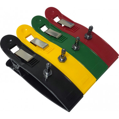 Eletrodo De Pinça Cardioclip com 4 unidades colorido