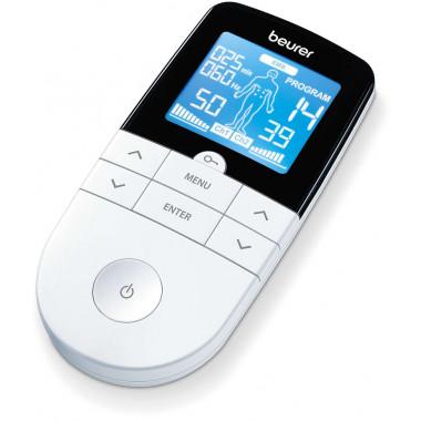 Eletroestimulador Tens e EMS Digital Portátil Beurer - EM 49