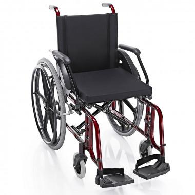 Cadeira de Rodas Confort Elite 44cm Vinho Metálico - Prolife