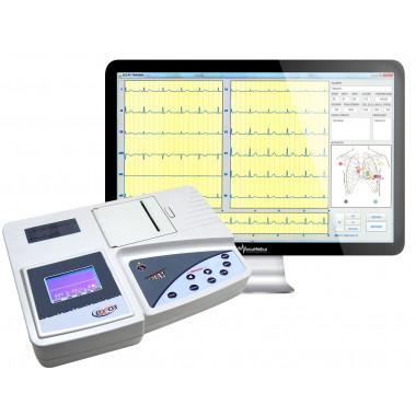 Eletrocardiógrafo ECG EX 03 USB Digital