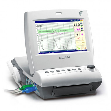 Cardiotocógrafo Monitor Fetal F6 Edan