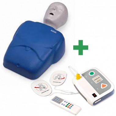 KIT Simulador de RCP e DEA para treinamento