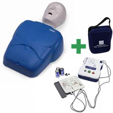 KIT Simulador de RCP e DEA para treino