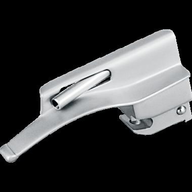Lâmina de Laringoscópio Aço Inox Fibra Óptica Macintosh 0