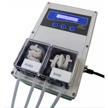 PHmetro Industrial para Soluções Aquosas mPI-3000 com 2 Bombas Peristálticas