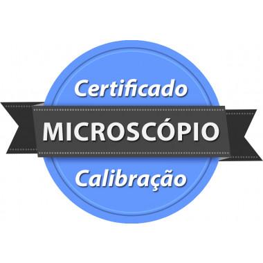 Calibração rastreada para Microscópio