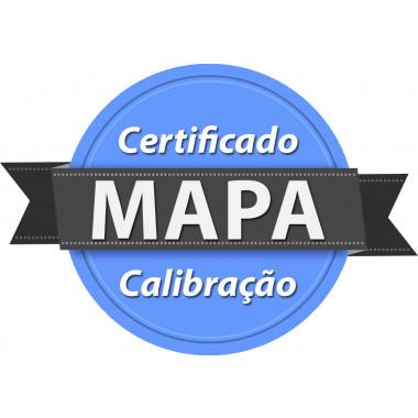 Calibração rastreada para Monitor de Pressão Arterial MAPA