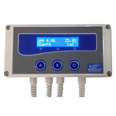 PHmetro Industrial para Soluções Aquosas mPI-2000