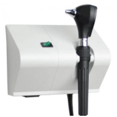Otoscópio MD 3.5V Fibra Óptica de Parede OT8D