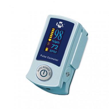 Oxímetro de Pulso de dedo Fingertip SB220 com visor LED colorido e Alarme - Rossmax