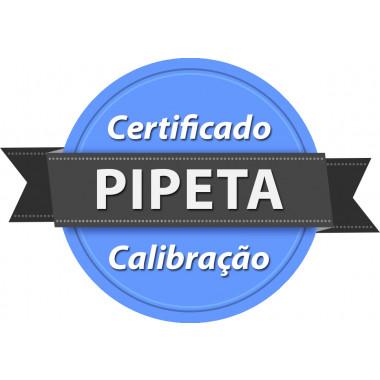 Calibração rastreada para Pipeta ou Micropipeta