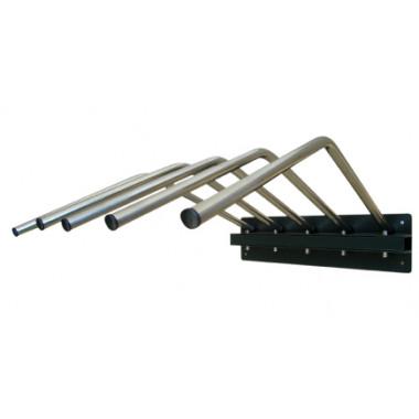 Porta Avental Plumbífero Tipo Cabide Para 5 Aventais