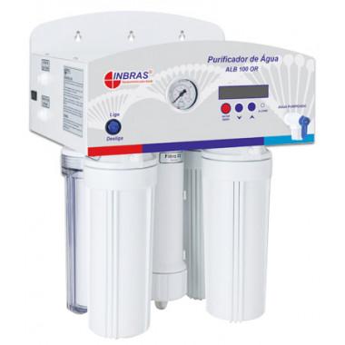 Purificador de Água por Osmose Reversa ALB 100 OR Ab Gl 54 Lts – 25 L/H