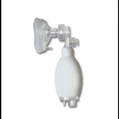Reanimador Manual Pulmonar Infantil de Silicone
