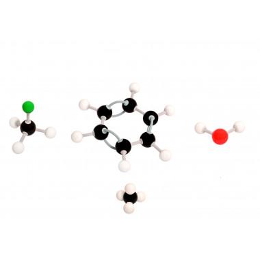 Modelo Molecular Introdutório com 122 Peças