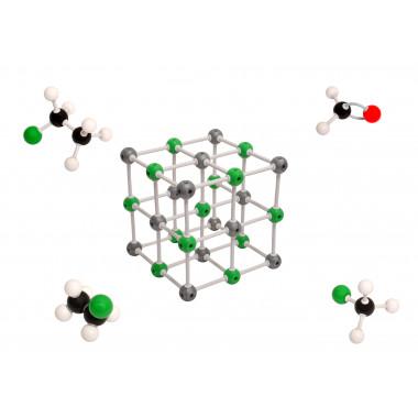 Modelo Molecular Avançado Orgânico e Inorgânico com 810 Peças