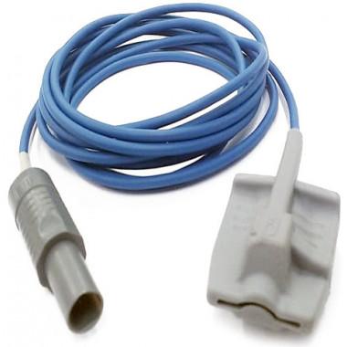 Sensor de Oximetria SPO2 de Dedo Soft Adulto compatível com Monitor Dixtal