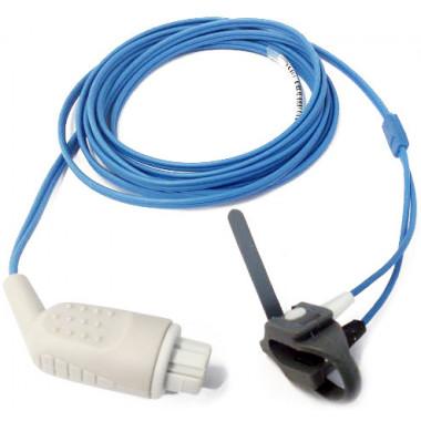 Sensor de Oximetria SPO2 Tipo Y Universal Neonato compatível com Monitor Datex