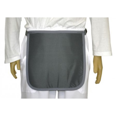 Avental para proteger órgãos genitais 30x30cm 0.50mmpb Plumbífero