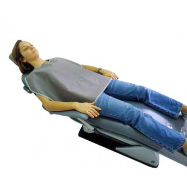 Avental para Paciente Adulto Curto 0,25mmpb Plumbífero