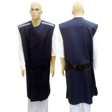 Avental com proteção nas costas 0,50mmpb 100x60cm Plumbífero