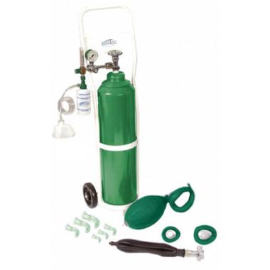 Unidade de Emergência para Piscina com cilindro de oxigênio 10L UM311