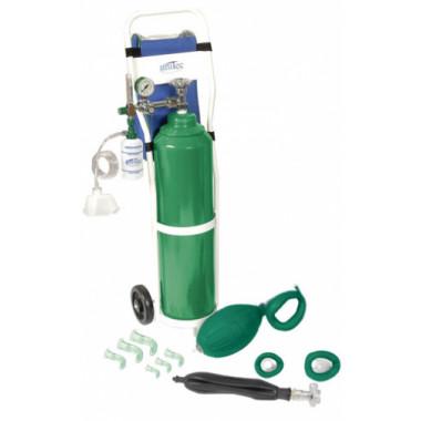 Unidade de Emergência para Piscina com cilindro de oxigênio 10L UM312