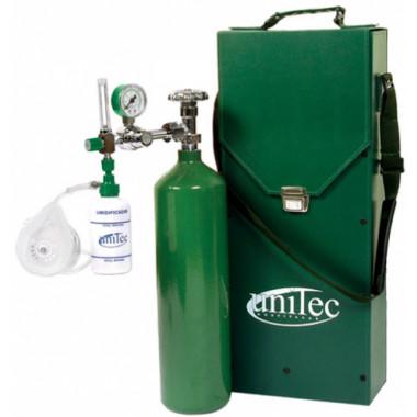 Unidade Portátil para Oxigenação com Cilindro de Oxigênio