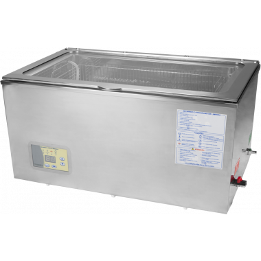 Lavadora Ultrassonica 25L em Inox BR25LC - Brasmedical