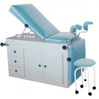 Mesa Ginecológica com Armário Luxal com Cadeira Giratória