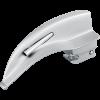 Lâmina de Laringoscópio Aço Inox Fibra Óptica Macintosh 1